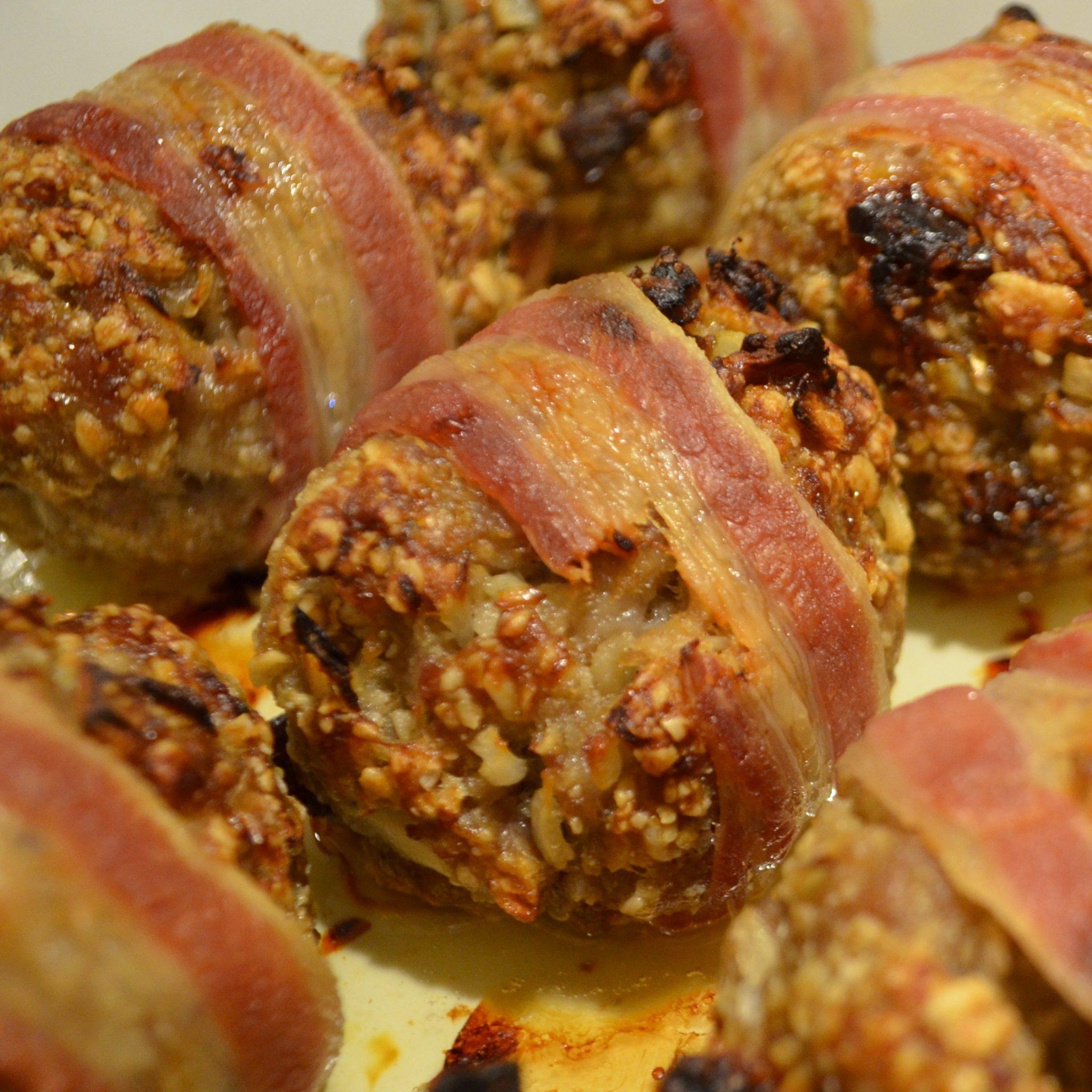sausage balls square